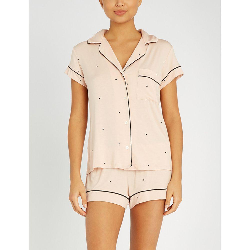 エバージェイ eberjey レディース インナー・下着 パジャマ・上下セット【dotted modal-blend pyjama set】Pink tint black