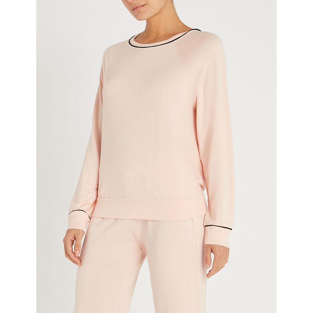 エバージェイ eberjey レディース インナー・下着 パジャマ・トップのみ【freja ringer stretch-jersey pyjama top】Pink tint