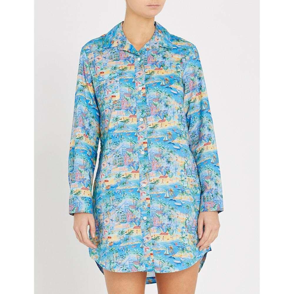 デリック ローズ derek rose レディース インナー・下着 パジャマ・トップのみ【ledbury cotton night shirt】Multi