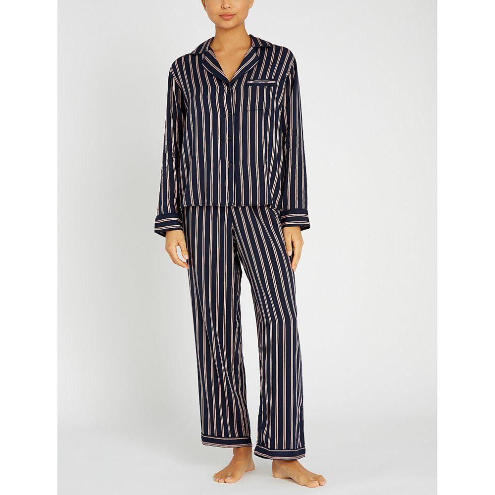 レイルズ rails レディース インナー・下着 パジャマ・上下セット【striped cotton-blend pyjama set】Camden stripe