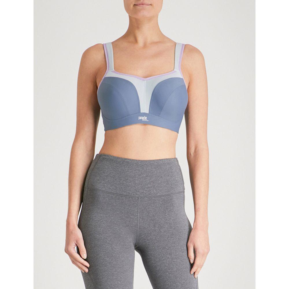 パナシェ panache レディース インナー・下着 スポーツブラ【wired stretch-jersey sports bra】Grey