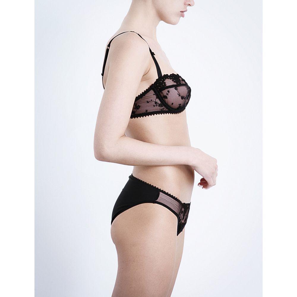 パッショナータ passionata レディース インナー・下着 ブラジャーのみ【white nights mesh underwired balconette bra】Black