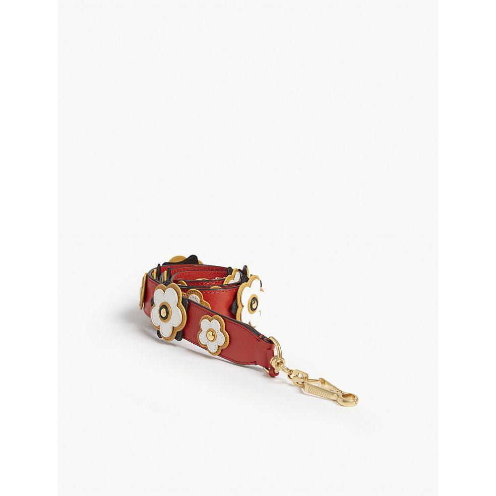 マルベリー mulberry レディース バッグ バッグストラップ【geo floral shoulder strap】Hibiscus red