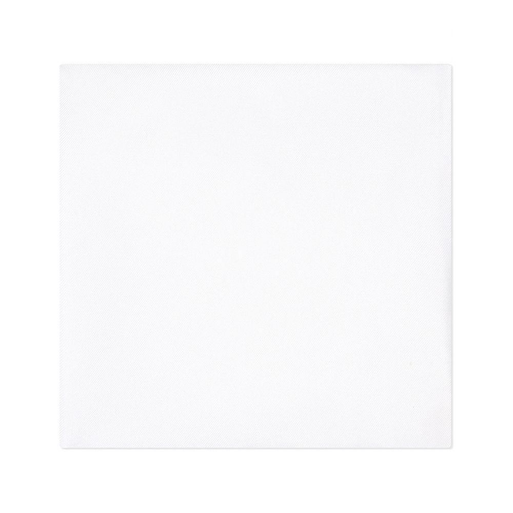 ギーブス アンド ホークス gieves & hawkes メンズ ハンカチ・チーフ【solid silk handkerchief】White