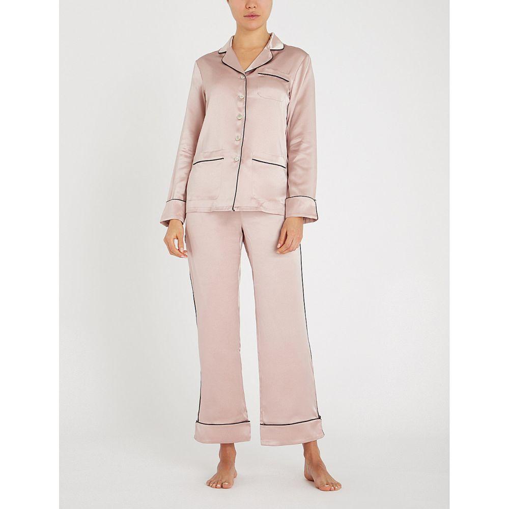 オリヴィア ヴォン ホール olivia von halle レディース インナー・下着 パジャマ・上下セット【coco silk pyjama set】Oyster