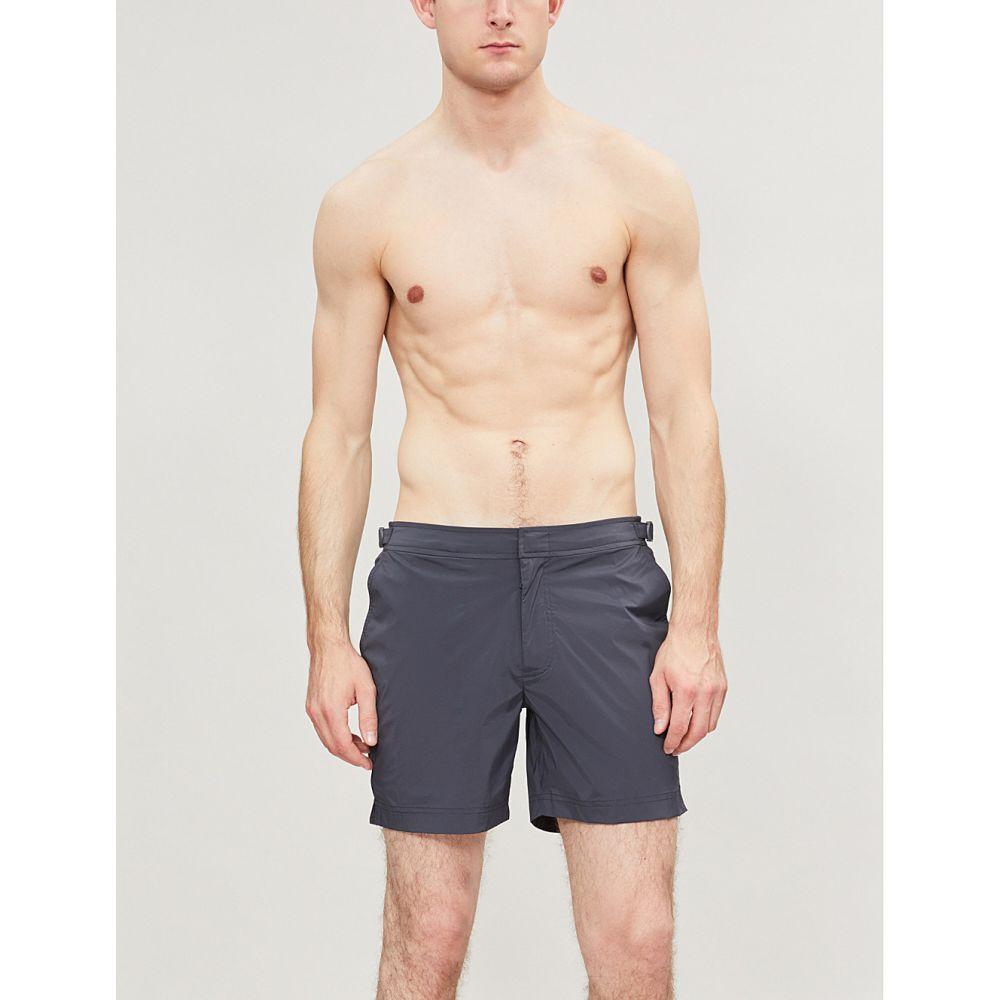 オールバー ブラウン orlebar brown メンズ 水着・ビーチウェア 海パン【regular swim shorts】Ebony