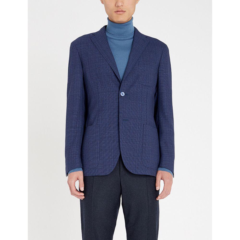 コルネリアーニ corneliani メンズ アウター スーツ・ジャケット【regular-fit wool blazer】Navy