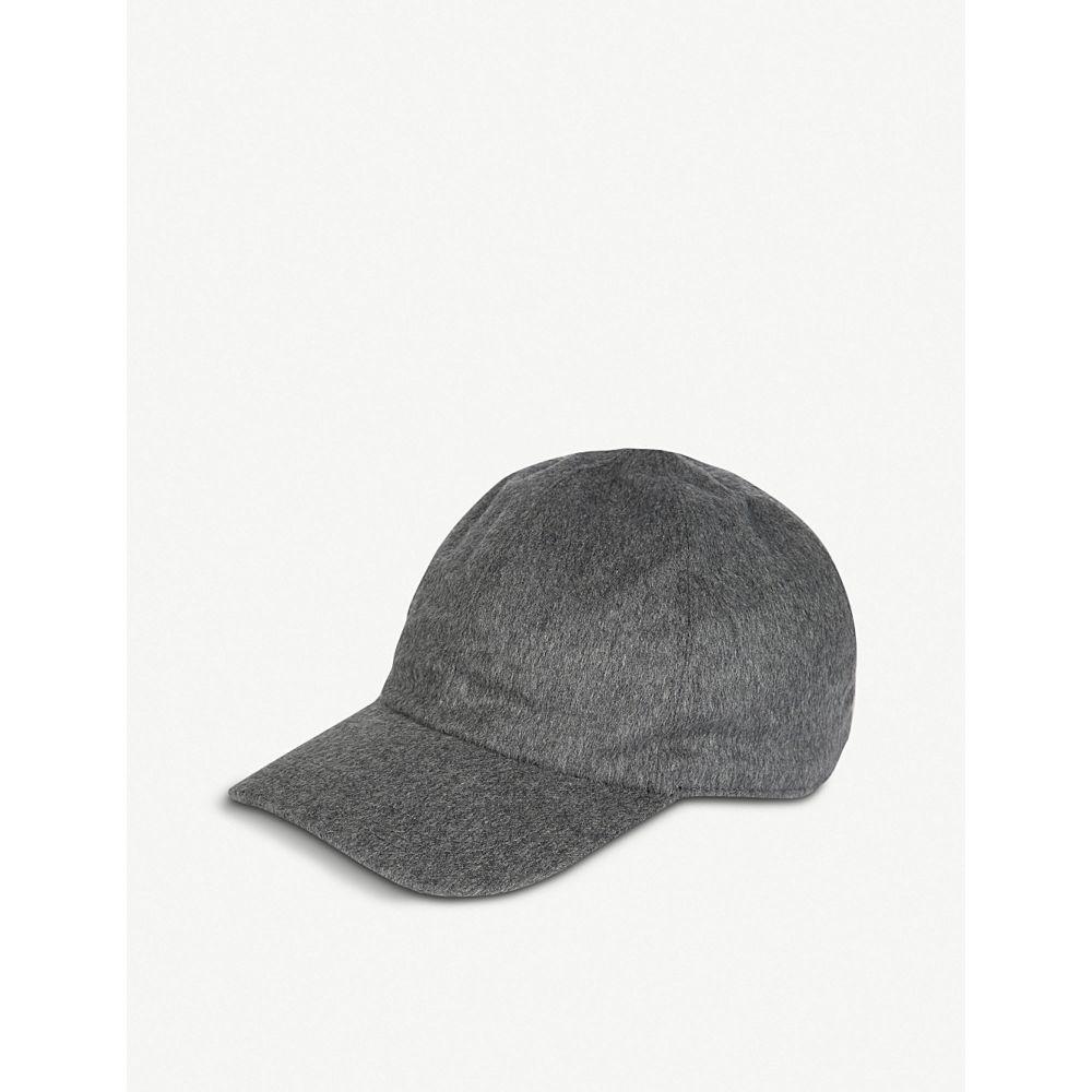 イレブンティ eleventy メンズ 帽子 キャップ【cashmere baseball cap】Grigio melange