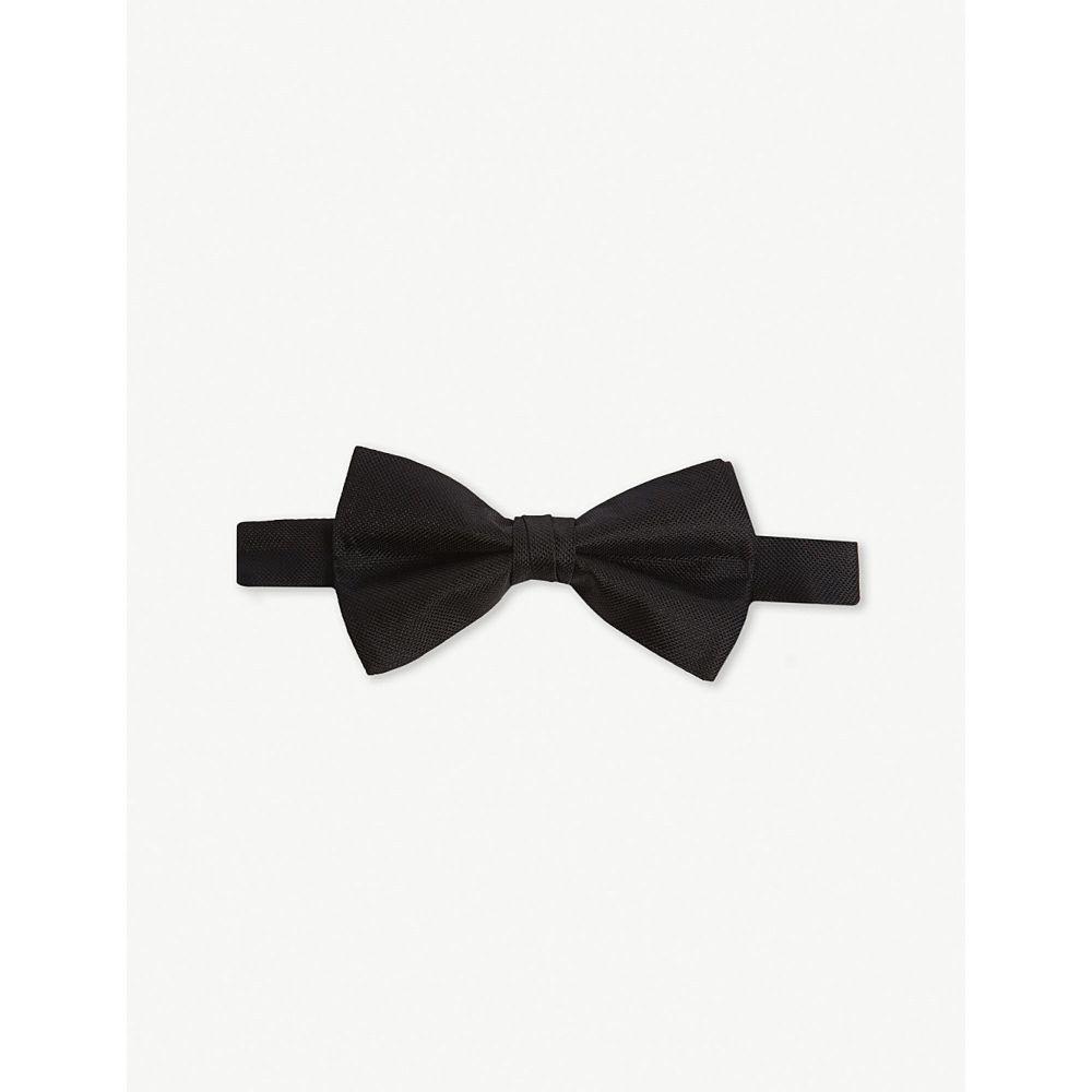 テッドベーカー ted baker メンズ 蝶ネクタイ【solid silk bow tie】Black