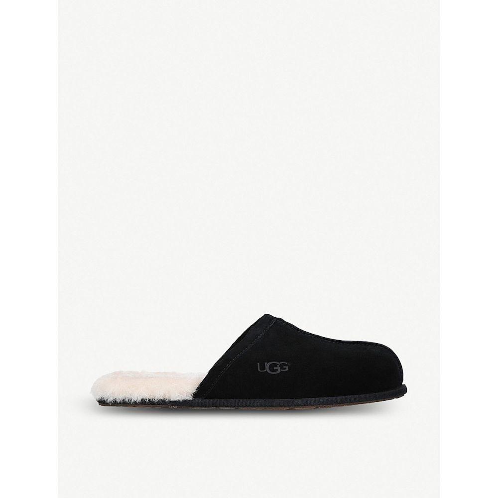 アグ ugg メンズ シューズ・靴 スリッパ【scuff sheepskin slippers】Black