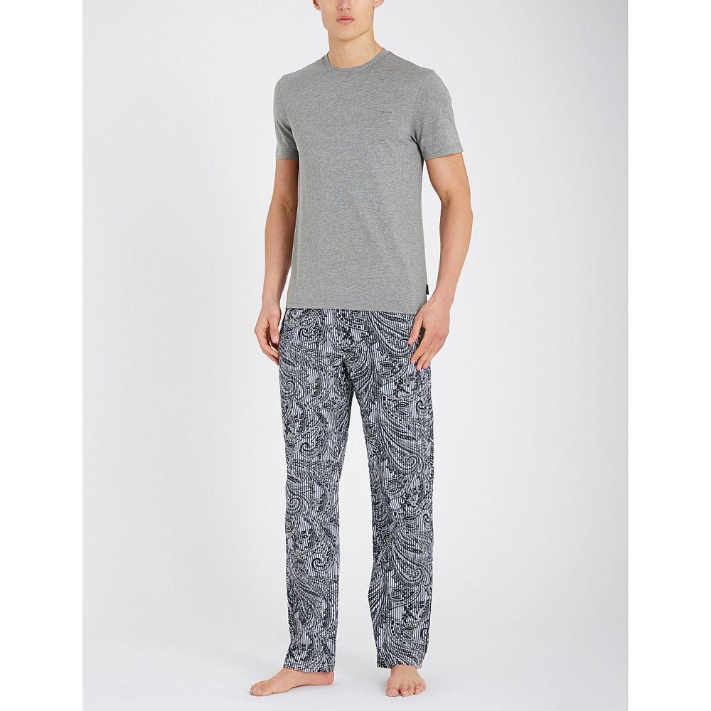 テッドベーカー ted baker メンズ インナー・下着 パジャマ・上下セット【bantha cotton-blend pyjama set】Blue
