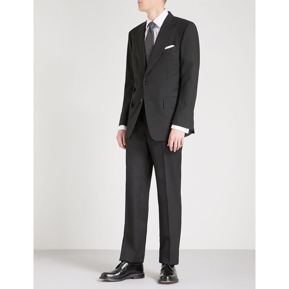 トム フォード tom ford メンズ アウター スーツ・ジャケット【windsor-fit wool suit】Black