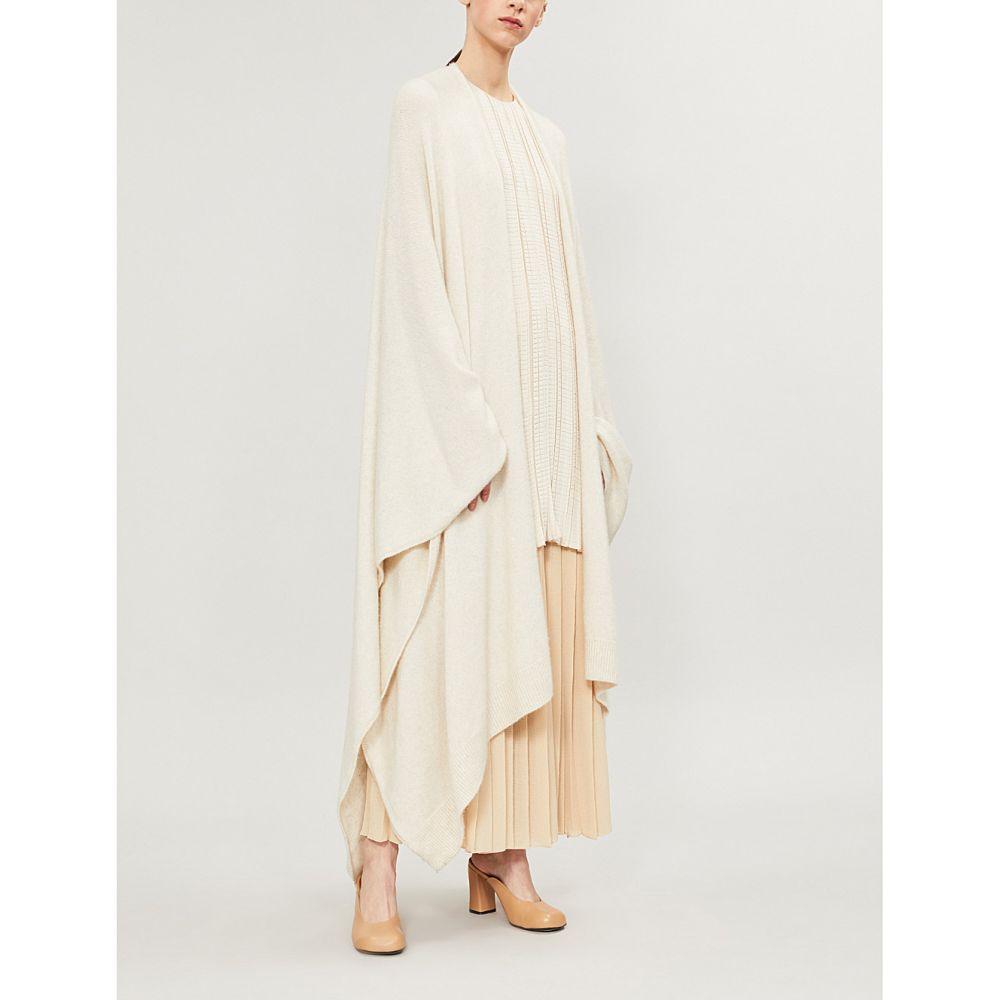 ザ ロウ the row レディース トップス カーディガン【hern cashmere-blend cardigan】Natural