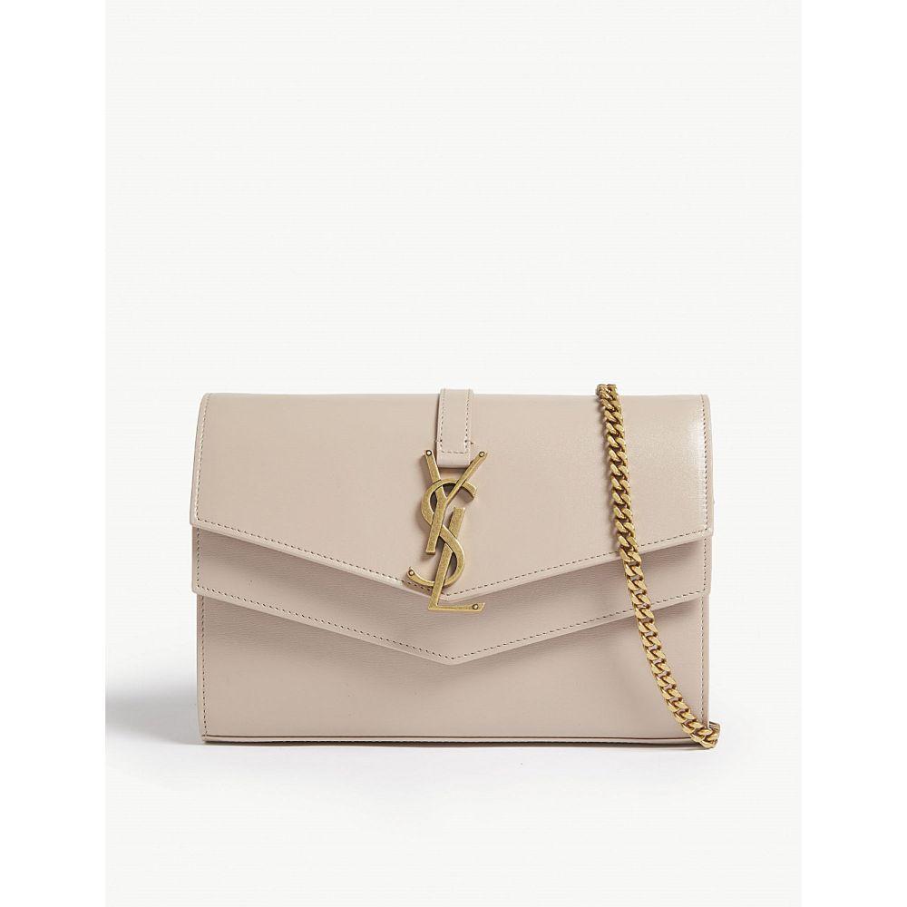 イヴ サンローラン saint laurent レディース バッグ ショルダーバッグ【sulpice leather shoulder bag】Light natural