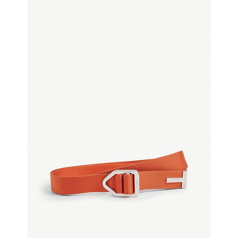 トム フォード tom ford メンズ ベルト【industrial belt】Orange