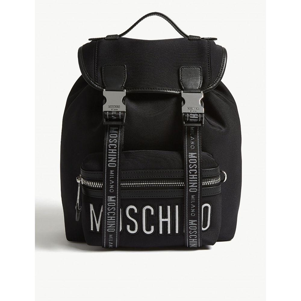 モスキーノ moschino レディース バッグ バックパック・リュック【nylon backpack】Black