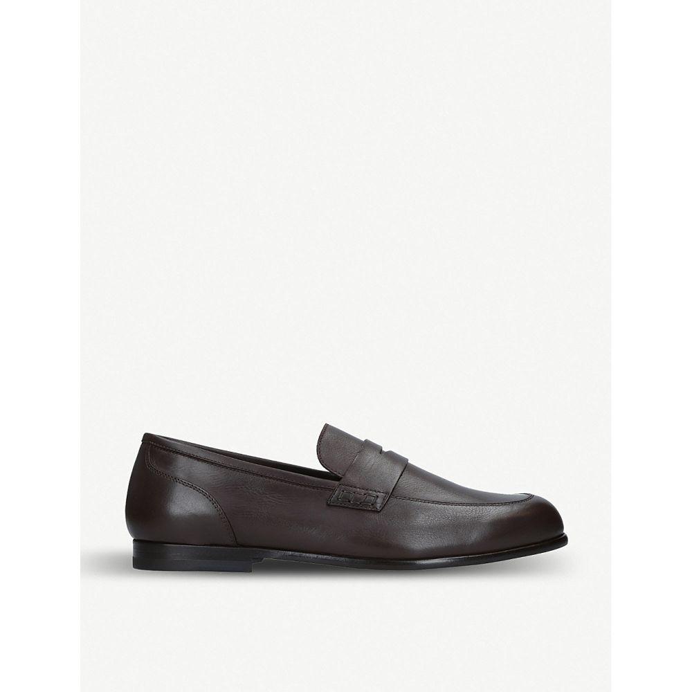 ハリーズ オブ ロンドン harrys london メンズ シューズ・靴 ローファー【dorian unlined leather loafer】Brown