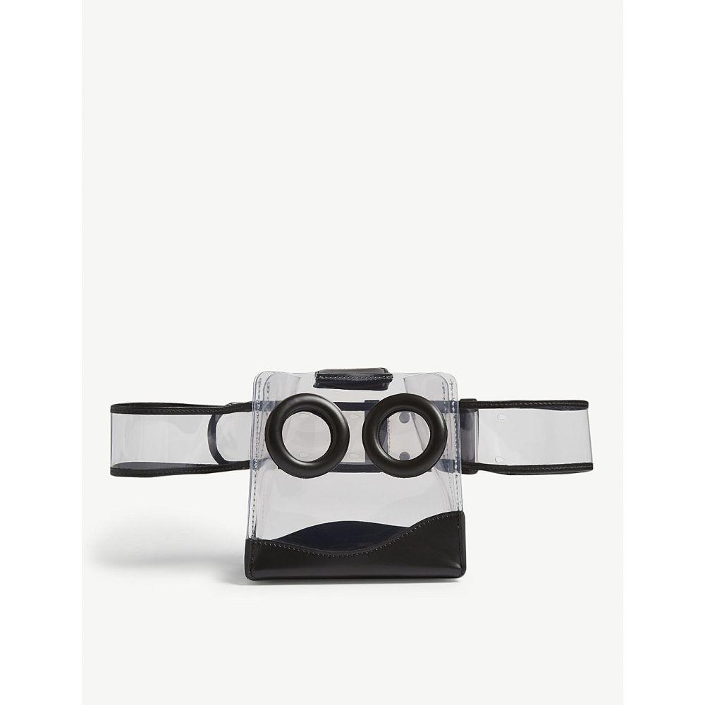 ボーイ boyy レディース バッグ ボディバッグ・ウエストポーチ【deon pvc and leather belt bag】Clear black blue