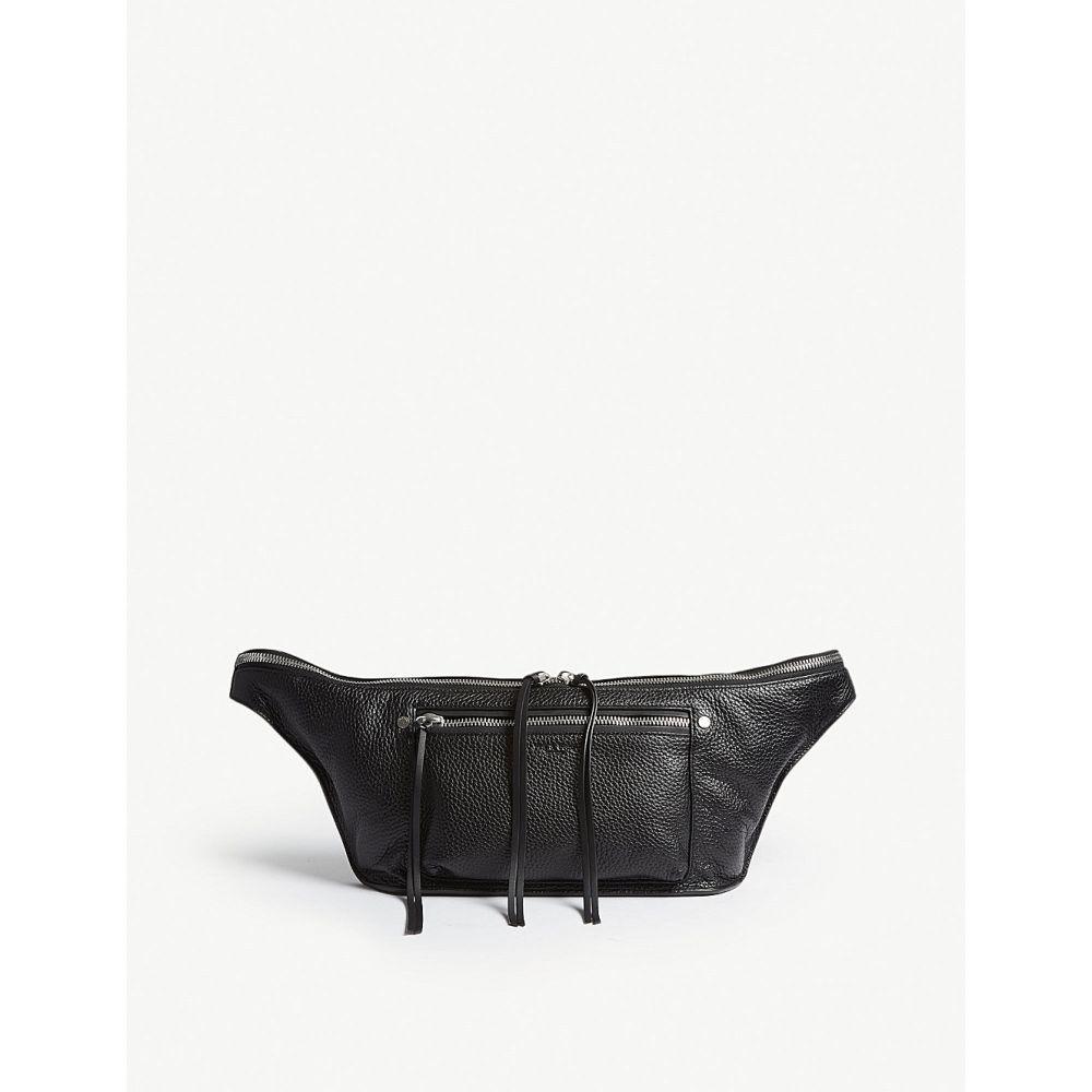 ラグ&ボーン rag & bone レディース バッグ ボディバッグ・ウエストポーチ【elliot pebbled leather fanny pack】Black