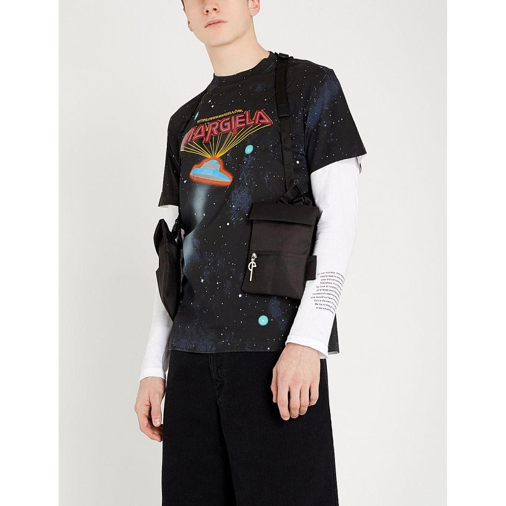 メゾン cotton-jersey マルジェラ maison margiela メンズ トップス Tシャツ margiela【space ship トップス cotton-jersey t-shirt】Black, スパート:572e99de --- sunward.msk.ru