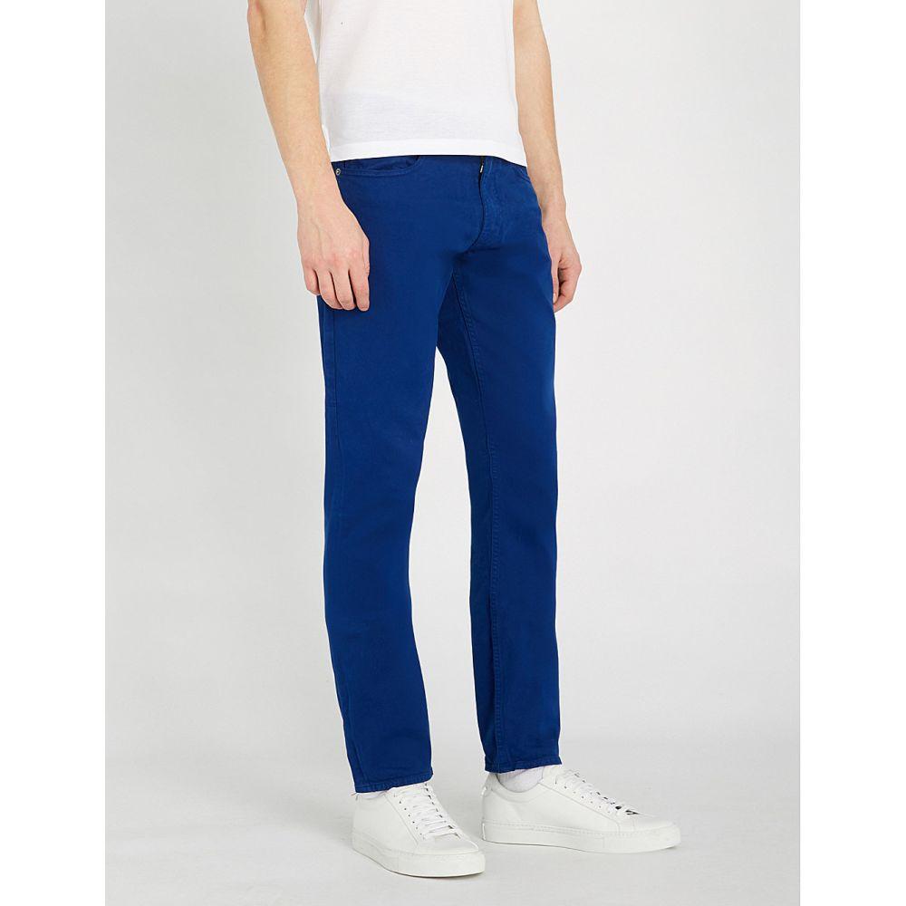 ラルフ ローレン ralph lauren purple label メンズ ボトムス・パンツ ジーンズ・デニム【slim-fit skinny stretch-cotton jeans】Washed royal blue