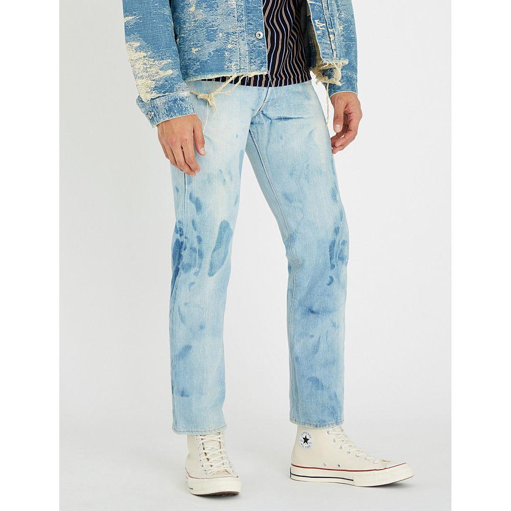 リーバイス levis vintage メンズ ボトムス・パンツ ジーンズ・デニム【1970 501 faded regular-fit straight jeans】Blue