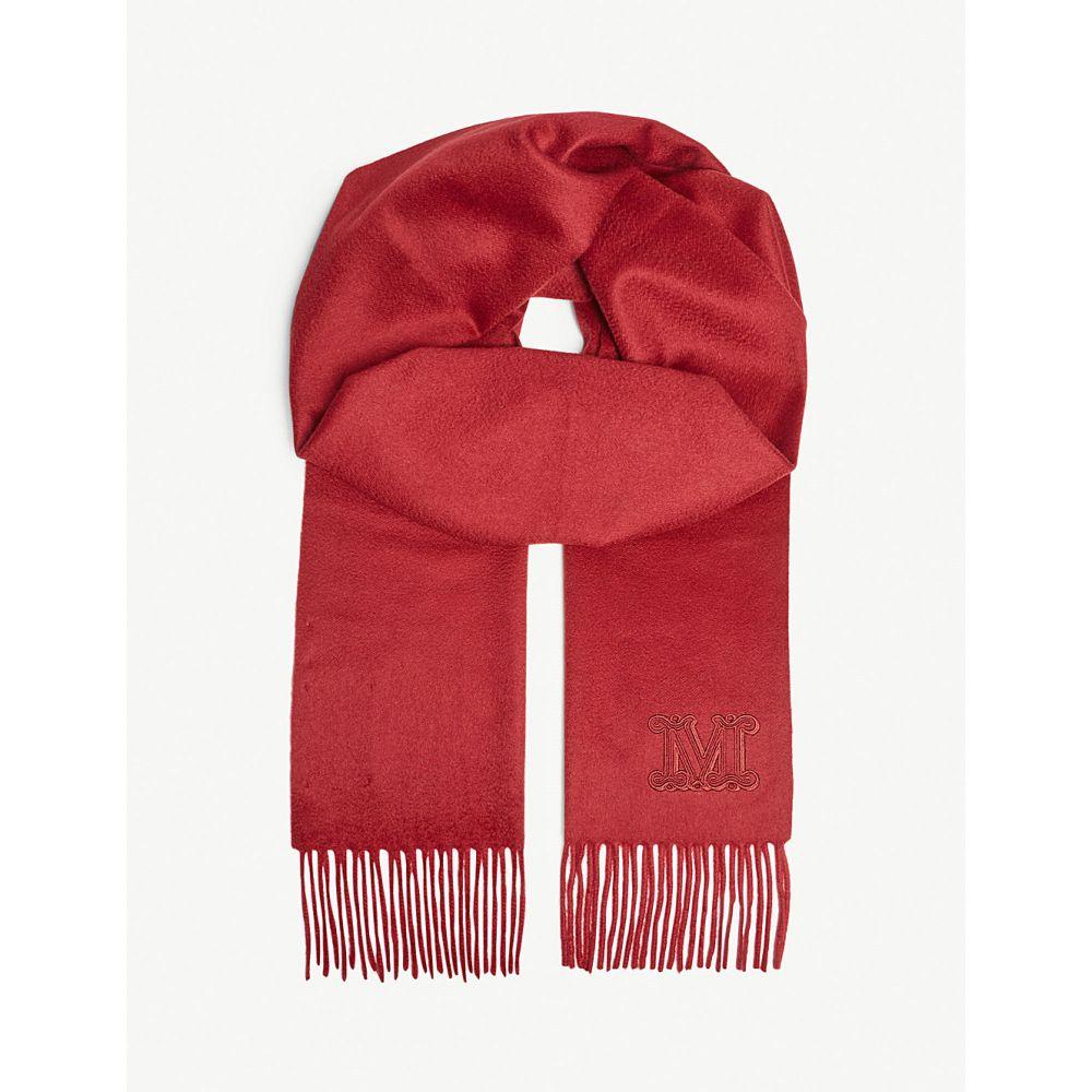 マックスマーラ max mara レディース マフラー・スカーフ・ストール【chinese new year cashmere scarf】Ruby