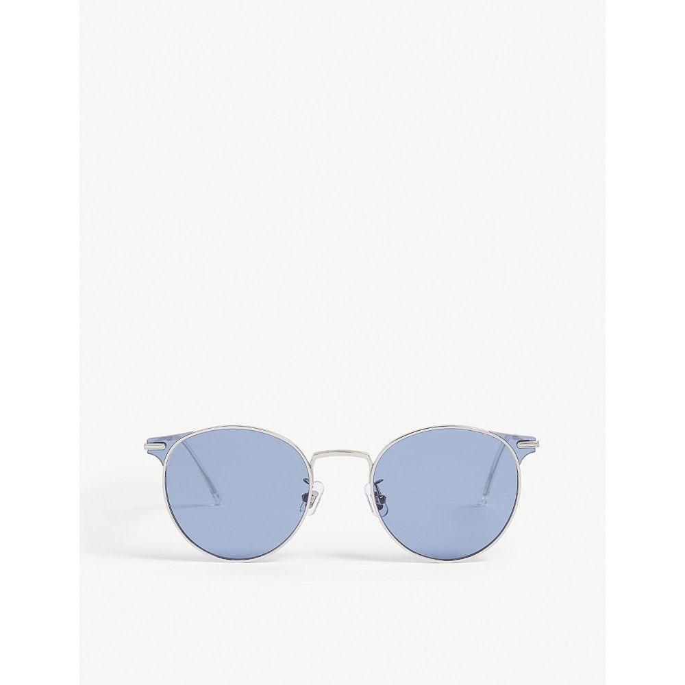 ジェントルモンスター gentle monster レディース メガネ・サングラス【moor 02 round-frame sunglasses】Silver blue