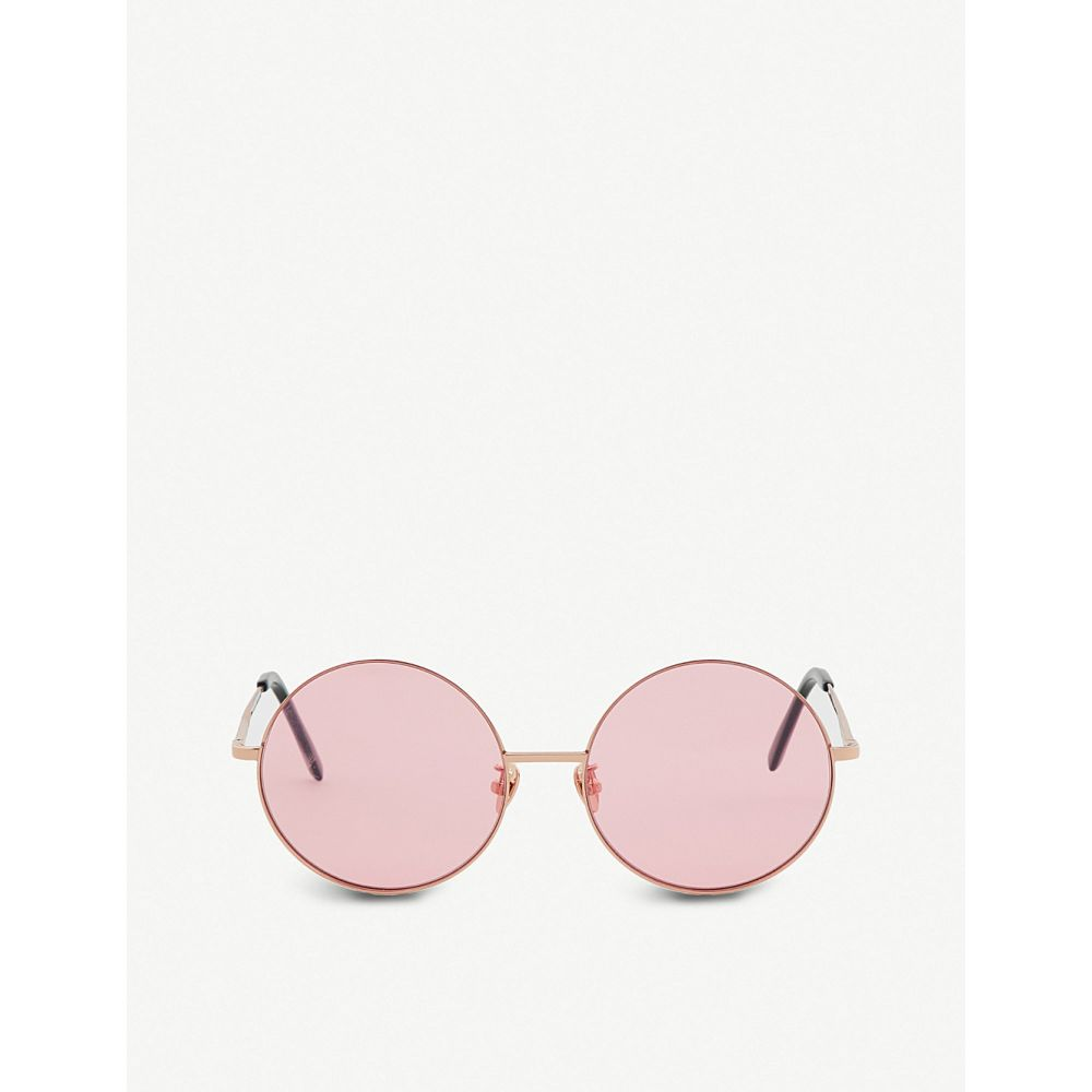プロジェクトプロダクト project produckt レディース メガネ・サングラス【fn-9 tinted sunglasses】Pink gold