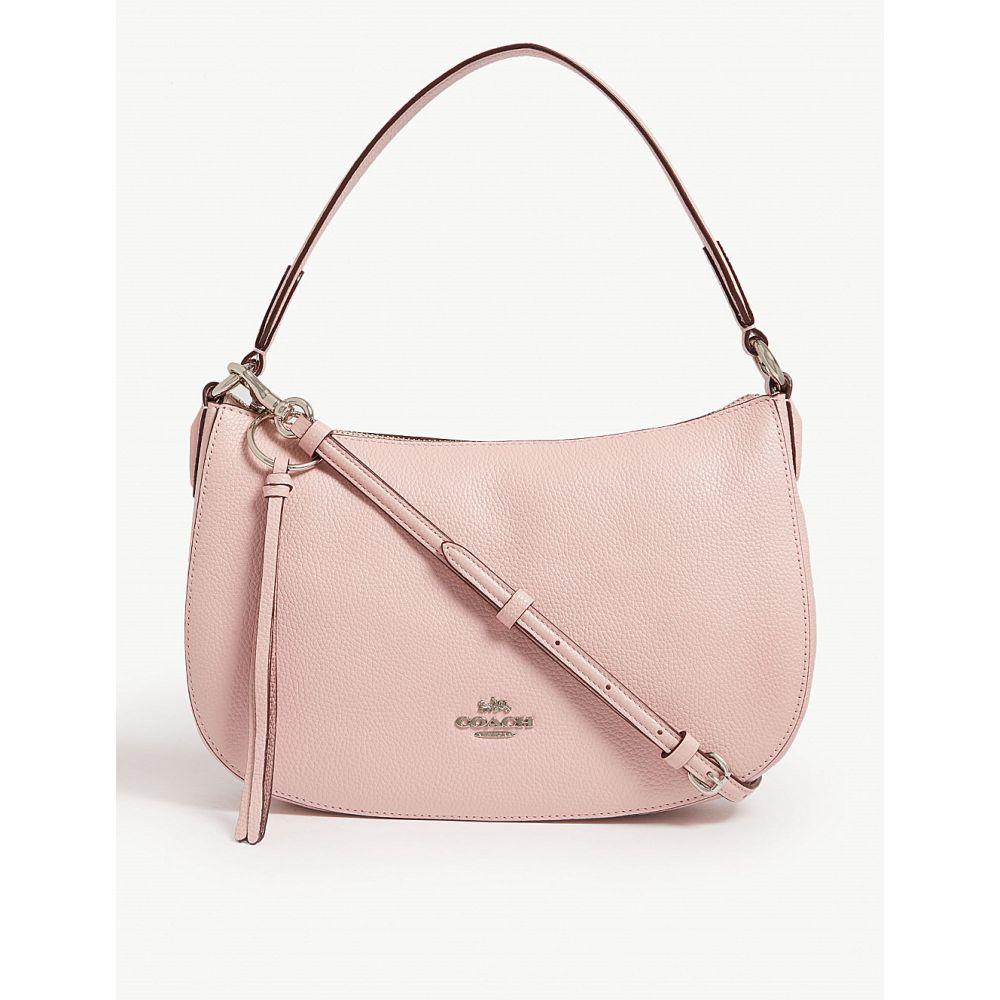 コーチ coach レディース バッグ ショルダーバッグ【sutton pebbled leather cross-body bag】Sv/blossom