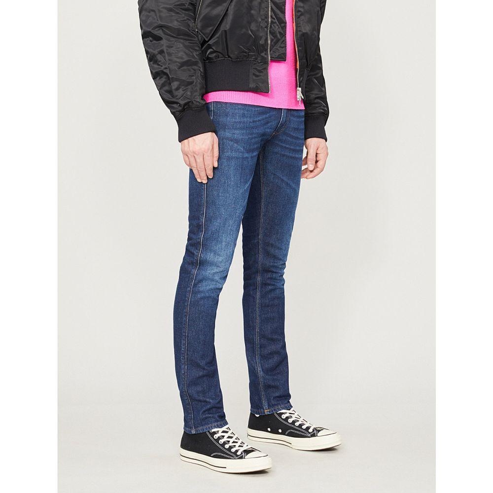 アクネ ストゥディオズ acne studios メンズ ボトムス・パンツ ジーンズ・デニム【max faded regular-fit straight jeans】Dark blue