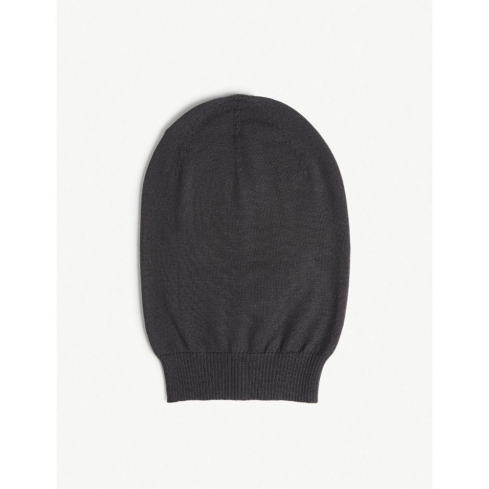 リック オウエンス rick owens メンズ 帽子 ニット【oversized cashmere beanie】Blue jay