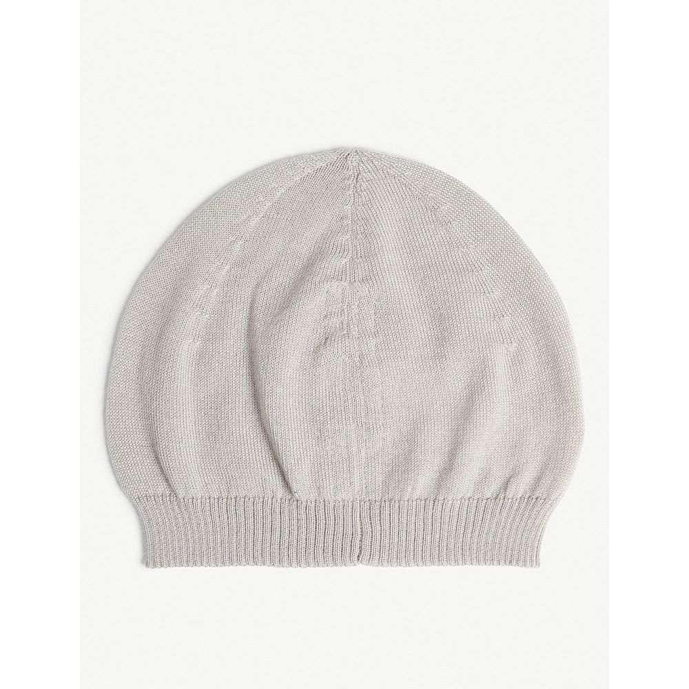 リック オウエンス rick owens メンズ 帽子 ニット【plain cashmere beanie】Oyster