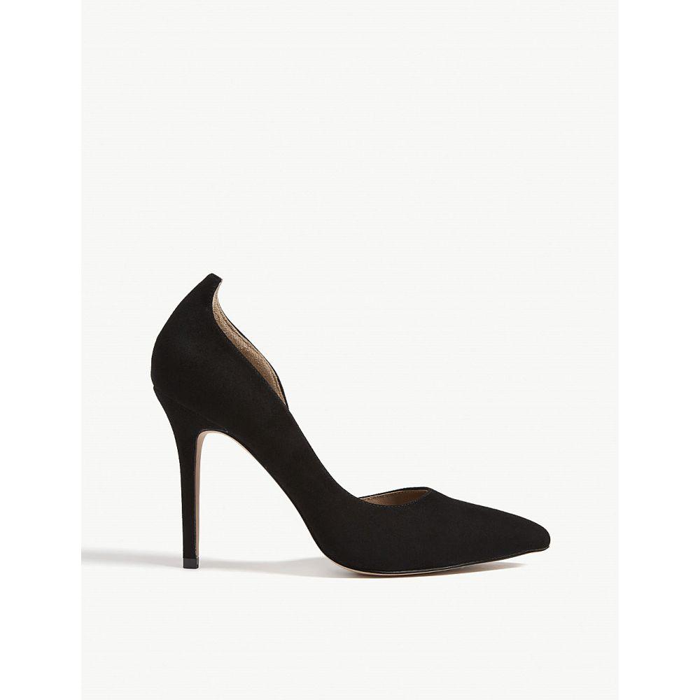 リース reiss レディース シューズ・靴 パンプス【alberta suede court shoe】Black