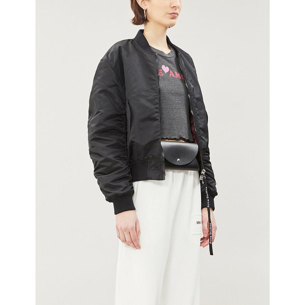 ワイルドフォックス wildfox レディース トップス ベアトップ・チューブトップ・クロップド【te amo' print cropped jersey top】Clean black