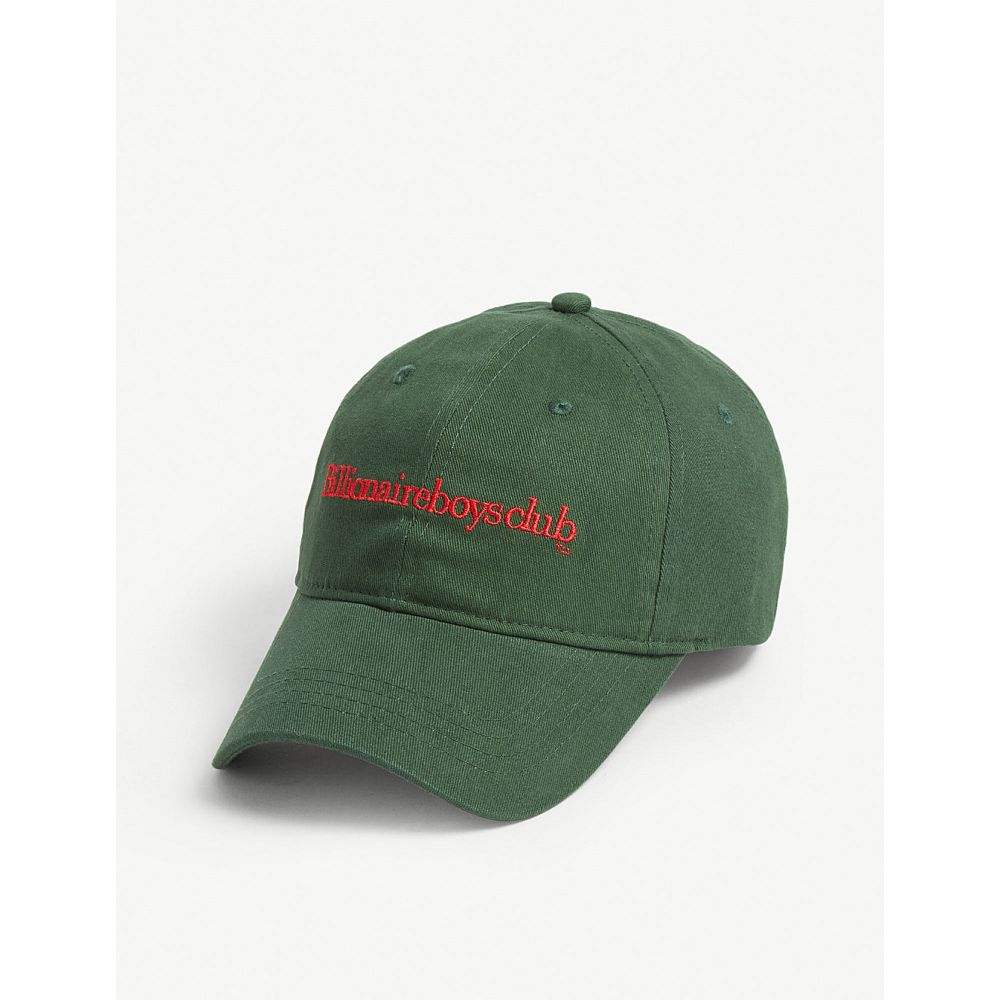 ビリオネアボーイズクラブ billionaire boys club メンズ 帽子 キャップ【logo trucker cap】Green