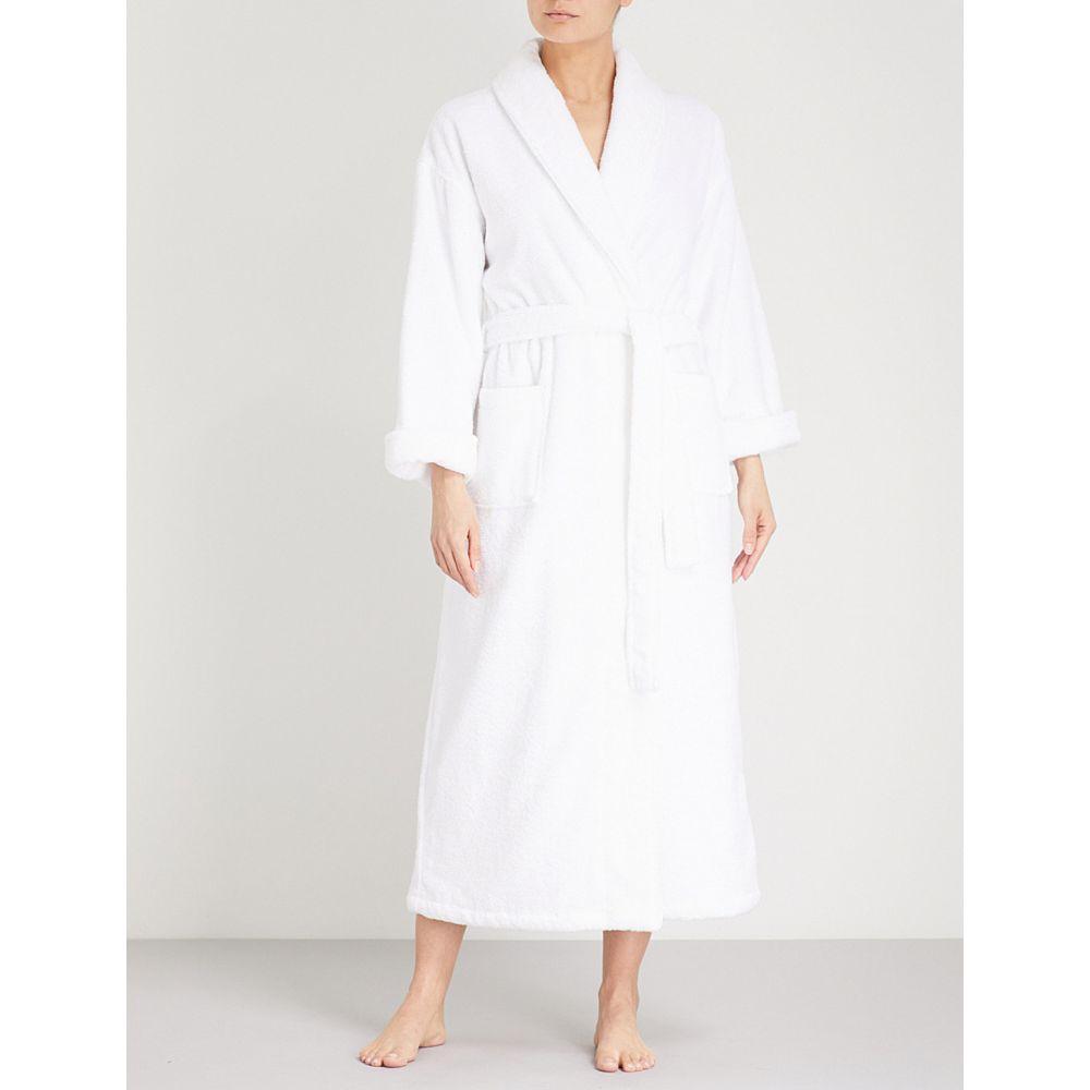 ザ ホワイト カンパニー the white company レディース インナー・下着 ガウン・バスローブ【cotton-towelling dressing gown】White