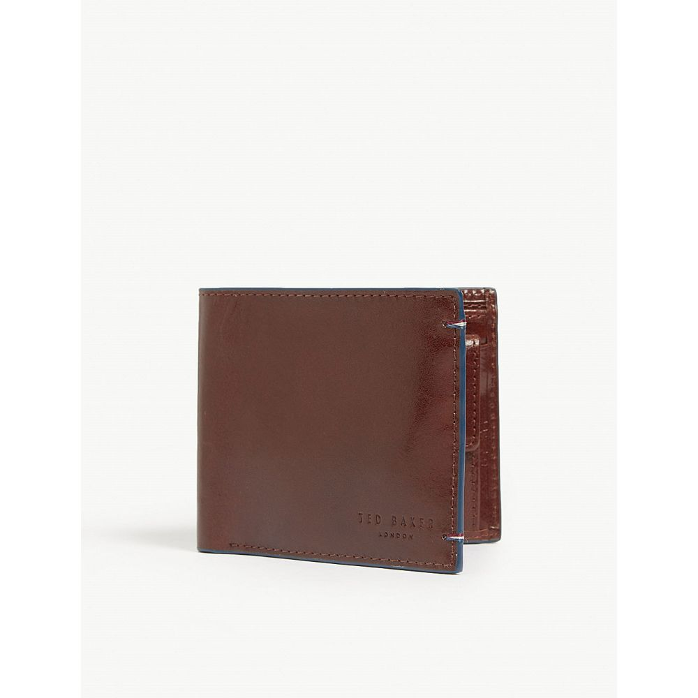 テッドベーカー ted baker メンズ 財布【chicoin leather billfold wallet】Tan