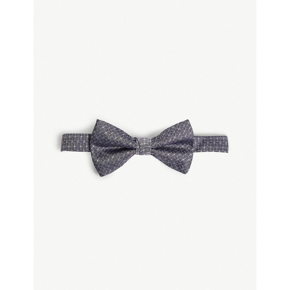 テッドベーカー ted baker メンズ ネクタイ【carbow geometric silk tie】Lilac