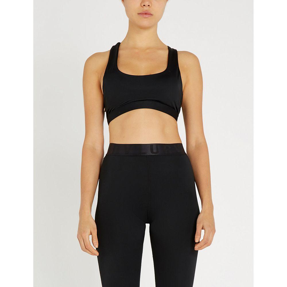 ラーブ lurv レディース インナー・下着 スポーツブラ【higher places stretch-jersey sports bra】Black