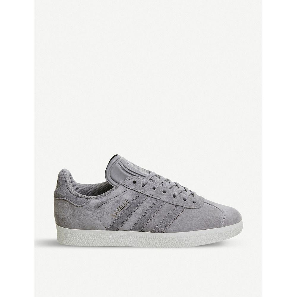 アディダス adidas メンズ シューズ・靴 スニーカー【gazelle suede trainers】Solid grey silver