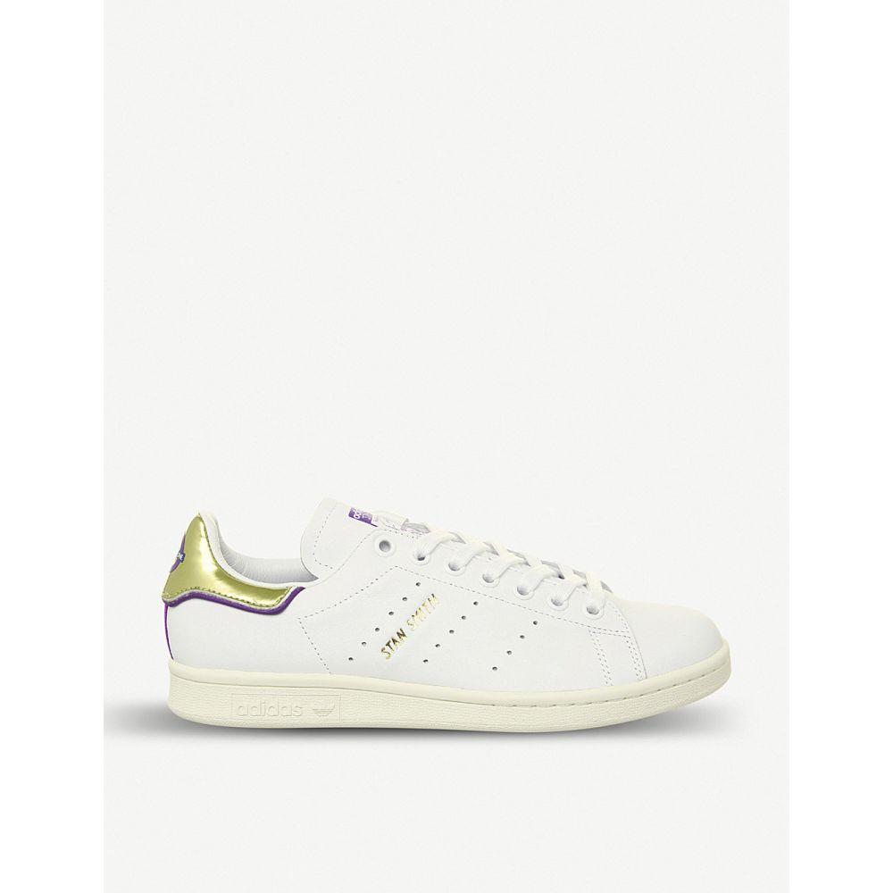 アディダス adidas メンズ シューズ・靴 スニーカー【stan smith elizabeth line leather trainers】Off white tfl