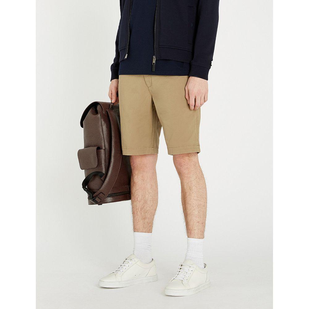 テッドベーカー ted baker メンズ ボトムス・パンツ ショートパンツ【selshor stretch-cotton chino shorts】Natural