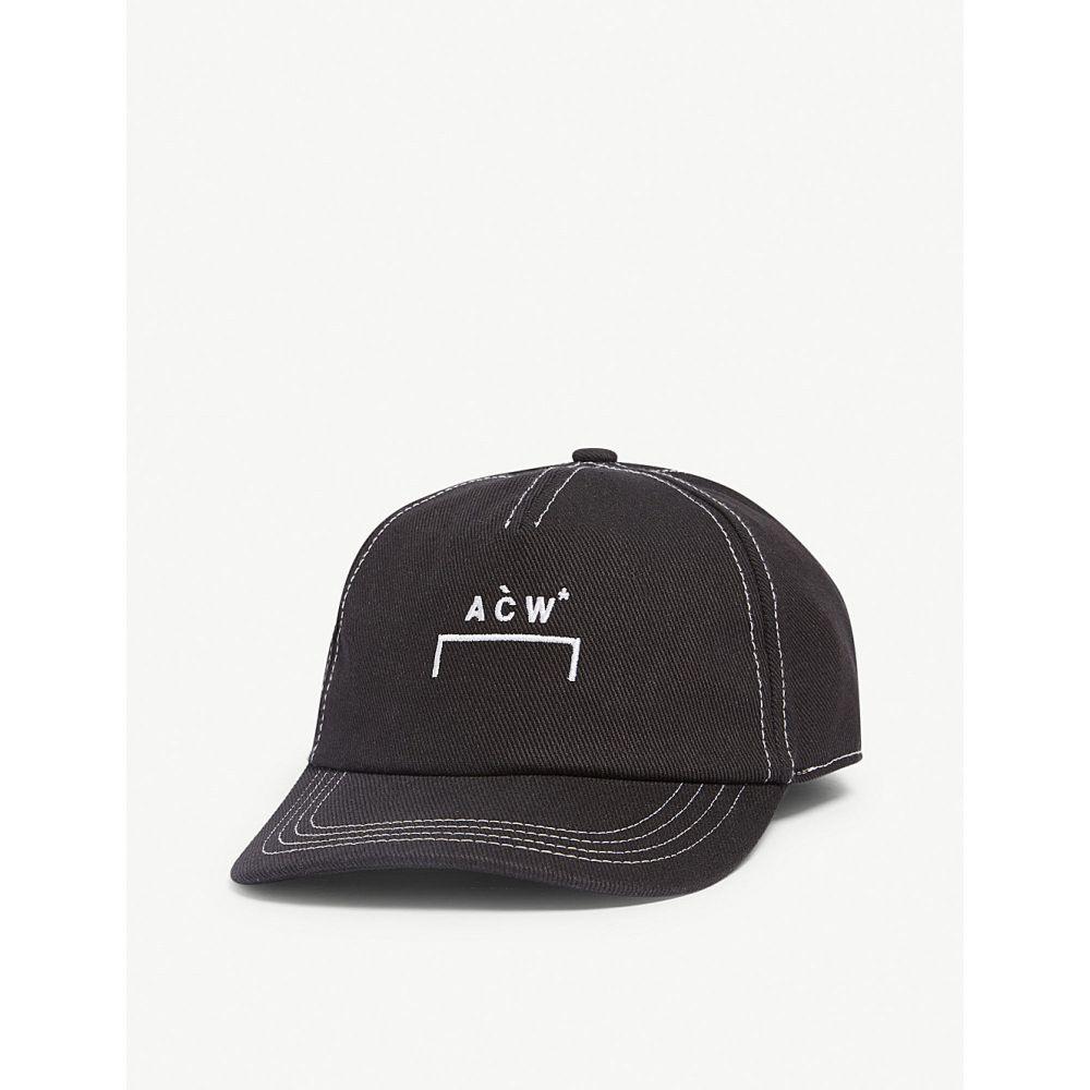 アコールドウォール a-cold-wall メンズ 帽子 キャップ【logo cap】black