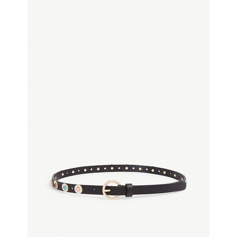 サンドロ sandro レディース ベルト【studded belt】Black