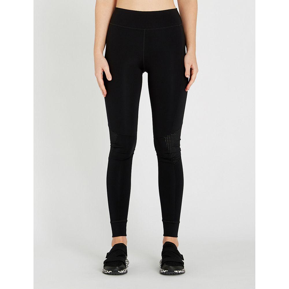 ジアップサイド the upside レディース ヨガ・ピラティス ボトムス・パンツ【yoga mesh-panelled stretch-jersey leggings】Black