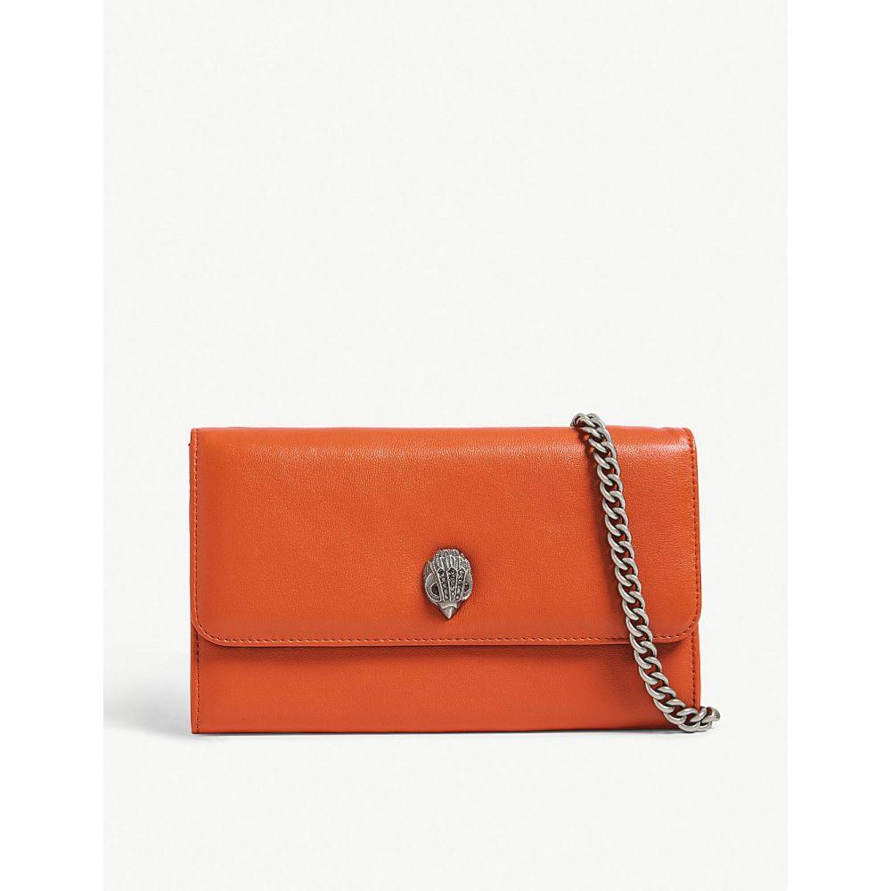 カート ジェイガー kurt geiger london レディース 財布【kensington leather wallet with chain】Orange