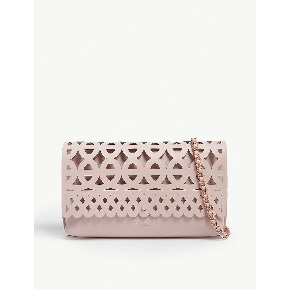 テッドベーカー ted baker レディース バッグ クラッチバッグ【sallia leather clutch】Lt-pink