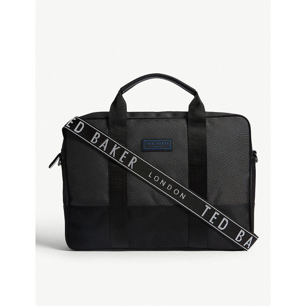 テッドベーカー ted baker メンズ バッグ ビジネスバッグ・ブリーフケース【tryer nylon document bag】Black