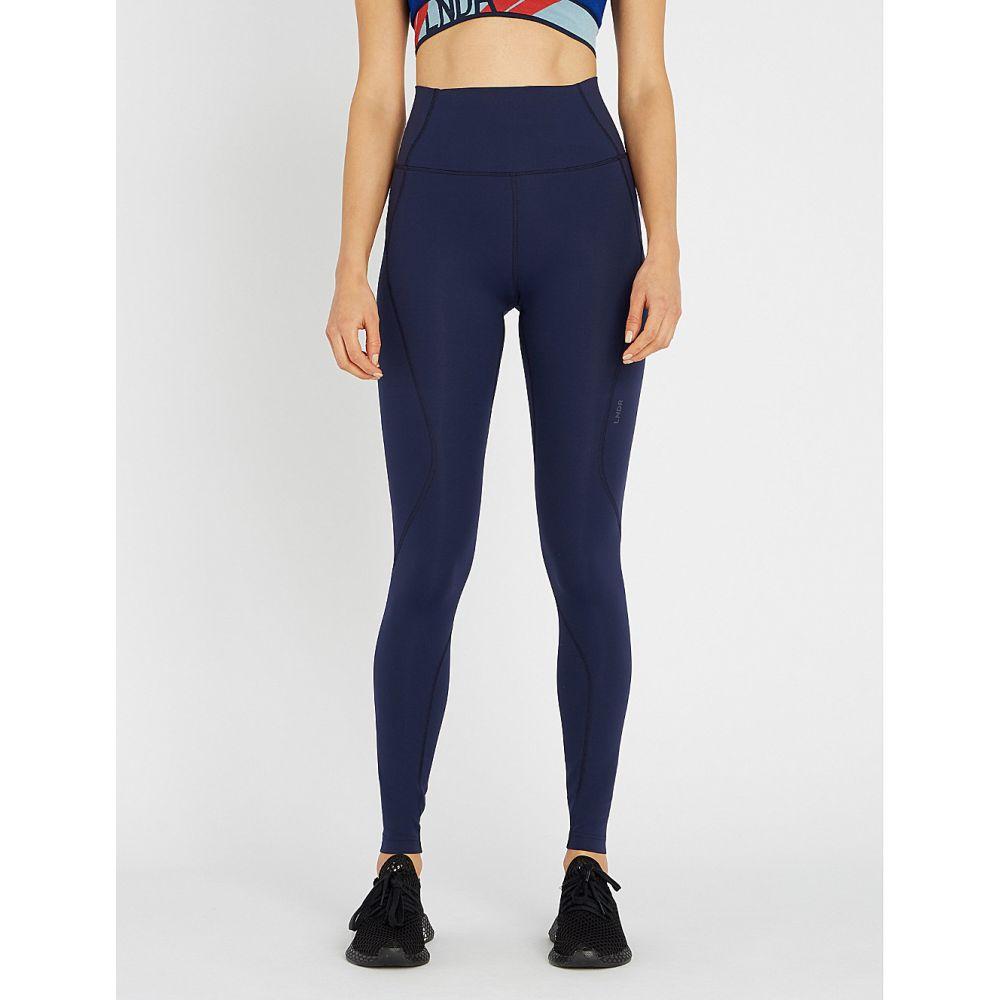 LNDR レディース インナー・下着 スパッツ・レギンス【limitless stretch-jersey leggings】Navy
